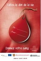 """Poster """"Faites le don de la..."""
