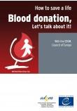 Brochure - Blood donation, let's talk about it!