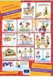 """Affiche """"Charte du Conseil de l'Europe sur l'éducation à la citoyenneté démocratique et l'éducation aux droits de l'homme - Mobilisons-nous !"""""""