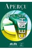 CEDH - Aperçu 1959-2015