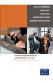 PDF - Accès des personnes handicapées à la culture, au tourisme, au sport et aux activités de loisirs