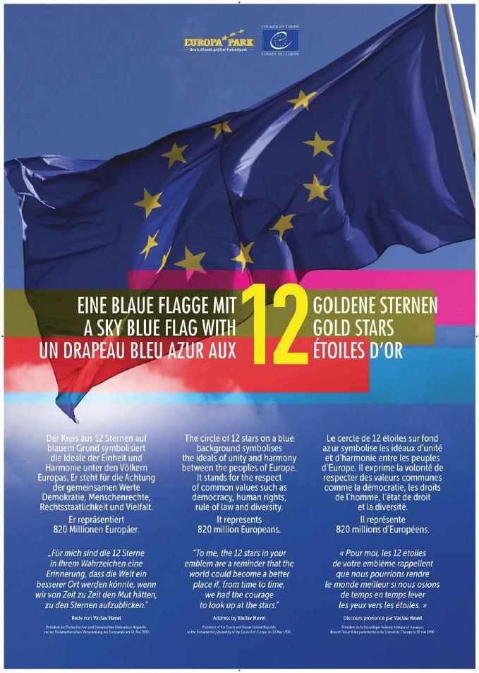 exposition-sur-le-drapeau-europeen Assomption dans Communauté spirituelle
